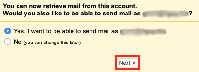 Yes, I want to be able to send mail